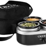 Crock-Pot-16-Ounce-Little-Triple-Dipper-Slow-Cooker-Silver-and-Black-SCRMTD307-DK-0