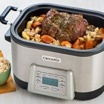 Crock-Pot-6-Quart-5-in-1-Multi-Cooker-with-Non-Stick-Inner-Pot-Stainless-Steel-0-1