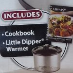 Crock-Pot-6-Quart-Countdown-Programmable-Oval-Slow-Cooker-with-Little-Dipper-Stainless-Steel-0-1
