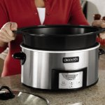 Crock-Pot-6-Quart-Countdown-Programmable-Oval-Slow-Cooker-with-Stove-Top-Browning-Stainless-Finish-0-0