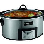 Crock-Pot-6-Quart-Countdown-Programmable-Oval-Slow-Cooker-with-Stove-Top-Browning-Stainless-Finish-0