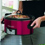 Crock-Pot-6-Quart-Programmable-Cook-Carry-Oval-Slow-Cooker-with-Digital-Timer-Red-0-0