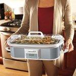 Crock-pot-SCCPCCP350-SS-Programmable-Digital-Casserole-Crock-Slow-Cooker-35-quart-Stainless-Steel-0-1