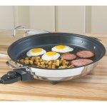 CucinaPro-1654-Stainless-Steel-Electric-Skillet-Non-Stick-Interior-0