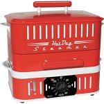 Cuizen-CST-1412B-Retro-Hot-Dog-Steamer-Red-0-0