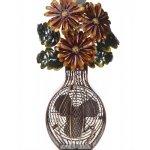 DecoBREEZE-Flower-Bouquet-Figurine-Fan-Two-Speed-Electric-Circulating-Fan-0