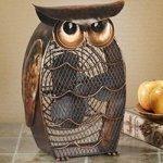 DecoBREEZE-Owl-Figurine-Fan-Two-Speed-Electric-Circulating-Fan-0
