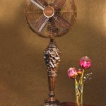 DecoBREEZE-Sutter-12-Inch-Table-Fan-3-Speed-Oscillating-Fan-0