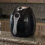 Della-Electric-Air-Fryer-w-Temperature-Control-Detachable-Basket-Carry-Handle-1500W-0