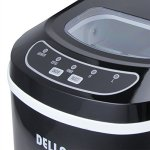 Della-Portable-Ice-Maker-Easy-Touch-Buttons-Digital-2-Selectable-Cube-Size-Up-To-26-LBS-of-Ice-Daily-0-1