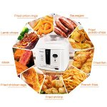Electric-Deep-Fryer-Cool-touch-8-cup-Oil-Capacity-1500W-0-1