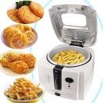 Electric-Deep-Fryer-Cool-touch-8-cup-Oil-Capacity-1500W-0-2