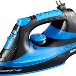 Eureka-ER15001-Champion-1500-Watt-Micro-Steam-Iron-Patent-Nano-Ceramic-Soleplate-with-Auto-Off-Anti-Drip-Blue-0