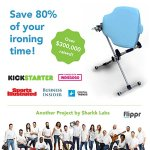 Flippr-Ironing-Board-with-360-Degree-Rotating-Function-and-Detachable-Iron-Rest-Premium-Aluminum-Iron-Board-with-8-Adjustable-Heights-Flippr-by-Sharkk-0-0