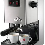 Gaggia-Classic-Semi-Automatic-Espresso-Maker-Pannarello-Wand-for-Latte-and-Cappuccino-Frothing-Brews-for-Both-Single-and-Double-Shots-0