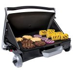 George-Foreman-GP200B-Portable-Propane-Camp-Tailgate-Grill-Portable-Gas-Grill-Camping-Grill-Black-0-2