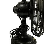 Global-Art-World-Vintage-Original-Antique-Rare-Compact-Size-In-Mint-Condition-Cinni-Oscillating-Industrial-Desk-Table-Fan-BF-06-0-2