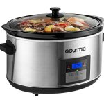 Gourmia-DCP-860-SlowSmart-85-quart-Digital-Slow-Cooker-with-Multiple-Programmable-Modes-Cool-Touch-Handles-Oval-Stainless-Steel-Silver-0