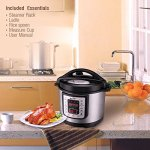 Housmile-6-Quart-7-in-1-Multi-Use-Programmable-Electric-Pressure-Cooker-Digital-Non-Stick-Stainless-Steel-Steam-Slow-Cooker-1000W-0-1
