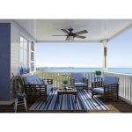 Hunter-59135-Key-Biscayne-Weathered-Zinc-54-Outdoor-Ceiling-Fan-with-Light-0-0