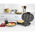Kalorik-Non-Stick-Black-Stainless-Steel-Double-Belgian-Waffle-Maker-Black-0