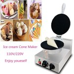 Katoot-DIY-Electric-Nonstick-Ice-Cream-Waffle-Cone-Maker-Machine-Baker-Pastry-Making-Baking-Tools-110220v-Ice-Cream-Cone-Maker-0-0
