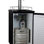 Kegco-K199SS-2P-Kegerator-Two-Keg-Beer-Cooler-Premium-Double-Faucet-D-System-Kit-Stainless-Door-0-0