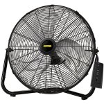 Lasko-Stanley-655650-20-Inch-High-Velocity-Floor-or-Wall-mount-Fan-Black-0