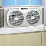 Likimen-Dual-Blade-9-Inch-Twin-Window-Fan-with-Cover-Portable-White-0