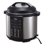 MIDEA-MY-CS6004W-15-in-1-6L-Stainless-Steel-Pot-Electric-Pressure-Cooker-with-Steamer-Rack-0