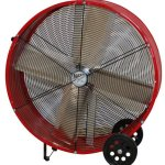 MaxxAir-BF36DD-RED-High-Velocity-Direct-Drive-Drum-Fan-36-Inches-Red-0