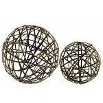 Metal-Nesting-Mesh-Ball-Decor-Set-of-Two-Gold-Benzara-0