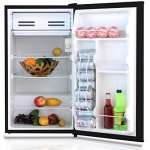 Midea-WHS-121LSS1-Compact-Single-Reversible-Door-Refrigerator-33-Cubic-Feet-Stainless-Steel-0-1