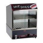 Nemco-8300-14-Hot-Dog-Steamer-w-Low-Water-Indicator-0