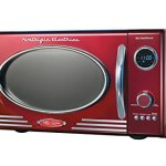 Nostalgia-Electrics-RMO400RED-Retro-Series-9-CF-Microwave-Oven-Red-0