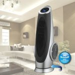 Ovente-TF88G-Cool-Breeze-Tower-Fan-with-Remote-Control-and-LCD-Panel-0