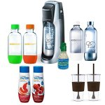 SodaStream-Fountain-Jet-Soda-Maker-Exclusive-Bundle-Includes-4-Bottles-Mini-CO2-2-x-Eco-First-24Oz-To-Go-Cups-Waters-Zeros-Pink-Grapefruit-and-Berry-Zero-Calorie-Drink-Mixes-0