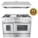 Thor-Kitchen-2-Piece-Kitchen-Package-with-48-6-Burner-Stainless-Steel-Gas-Range-and-48-Under-Cabinet-Range-Hood-In-Stainless-Steel-0