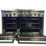 Thor-Kitchen-2-Piece-Kitchen-Package-with-48-Dual-Fuel-Range-6-Burner-With-Double-Oven-and-Griddle-HRD4803U-and-48-Under-Cabinet-Range-Hood-HRH4805U-0-1
