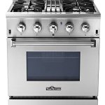 Thorkitchen-HRD3088U-30-Freestanding-Professional-Style-Dual-Fuel-Range-with-42-cu-ft-Oven-4-Burners-Convection-Fan-Stainless-Steel-0