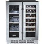 Titan-24-Inch-Built-In-French-Door-Wine-and-Beverage-Refrigerator-0-0