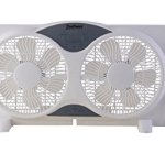 TruePower-Twin-9-Reversible-Airflow-Window-Fan-with-Remote-Control-0-0