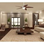 Westinghouse-7206500-Bendan-LED-52-Brushed-Nickel-with-Hammered-Accents-Indoor-Ceiling-Fan-0-0