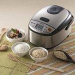 Zojirushi-NS-LGC05XB-Micom-Rice-Cooker-Warmer-Stainless-Black-0-1