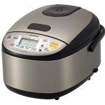 Zojirushi-NS-LGC05XB-Micom-Rice-Cooker-Warmer-Stainless-Black-0