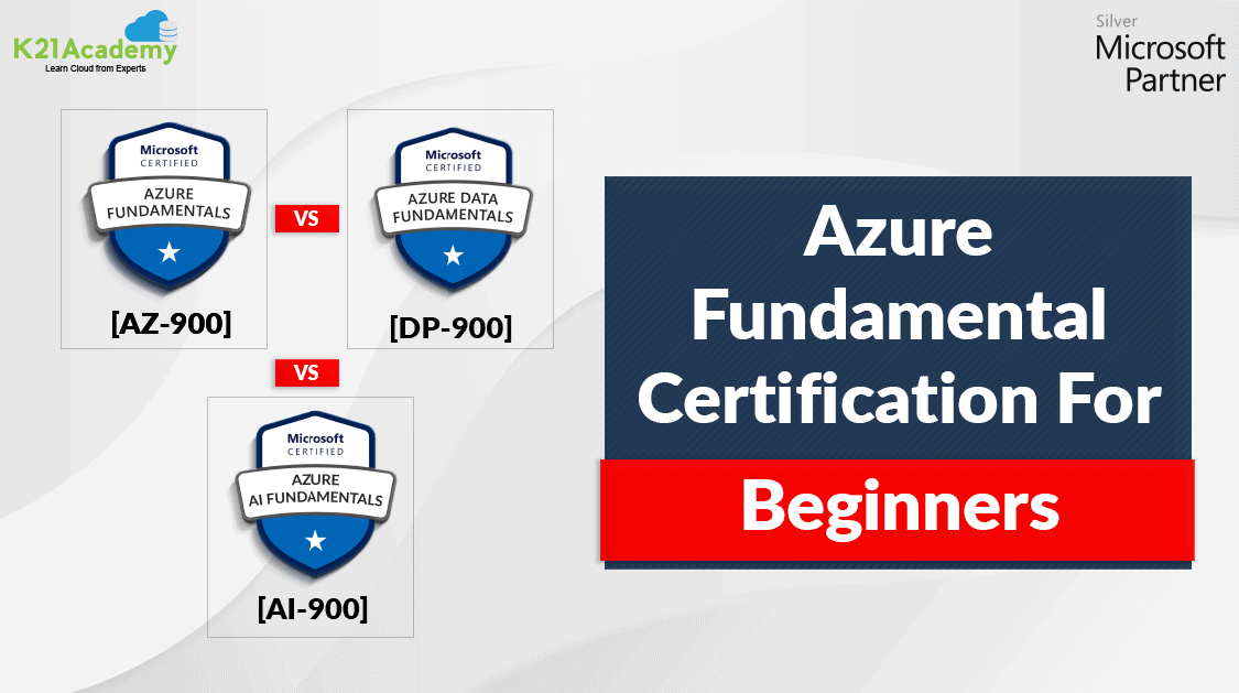 Azure Fundamental Certification: AZ-900 vs AI-900 vs DP-900