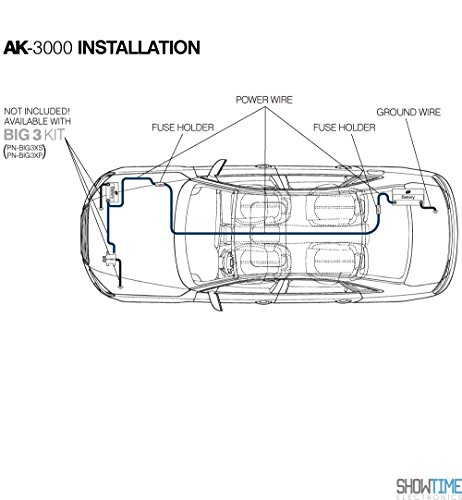XS Power AK3000 XP FLEX 1/0 AWG 3000W