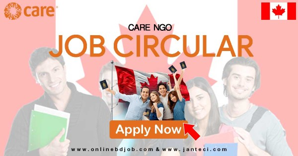 CARE NGO Canada Job Circular