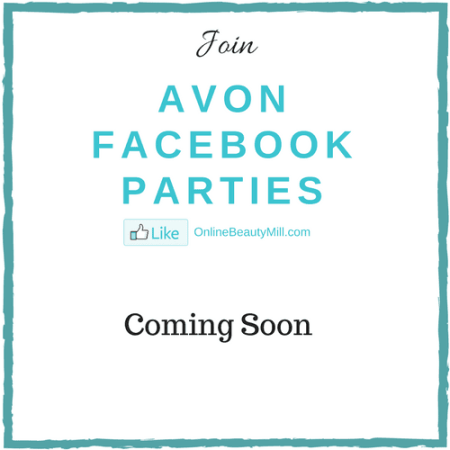 avon facebook parties