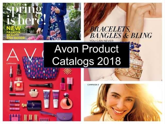 View All of the Avon Catalogs for 2018